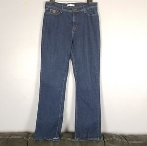 Levi's 512 perfectly slimming straight leg